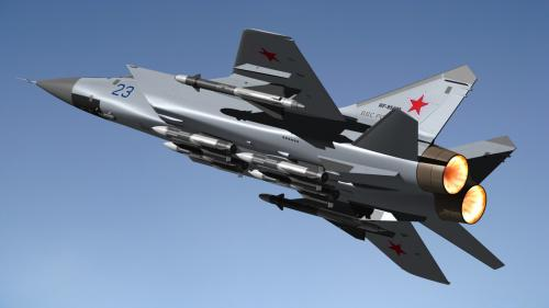 Экипажи МиГ-31 отточили навыки полетов в условиях Крайнего Севера