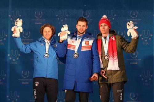 Камчатский горнолыжник Иван Кузнецов выиграл золото Универсиады в Красноярске