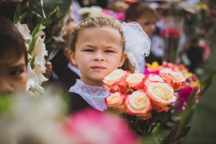 В Петропавловске за парты сядут более 2300 первоклашек . Фото Анастасии Юдаевой, РАИ