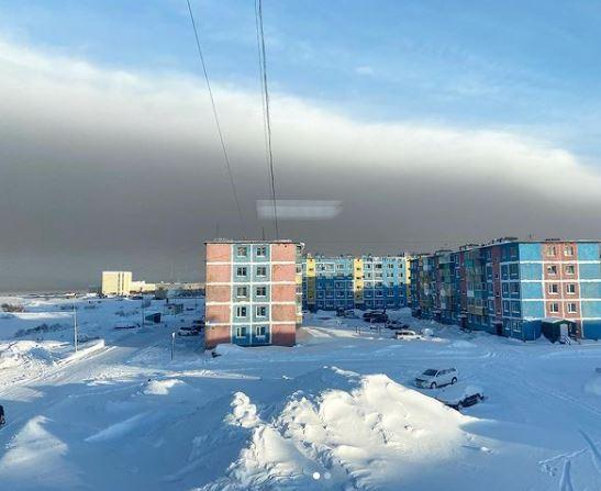 Пепел вулкана Шивелуч выпал в Усть-Камчатске