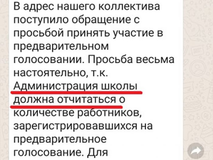 Камчатские учителя сообщили о давлении с праймериз «Единой России». Фото: pedagog-prof.org