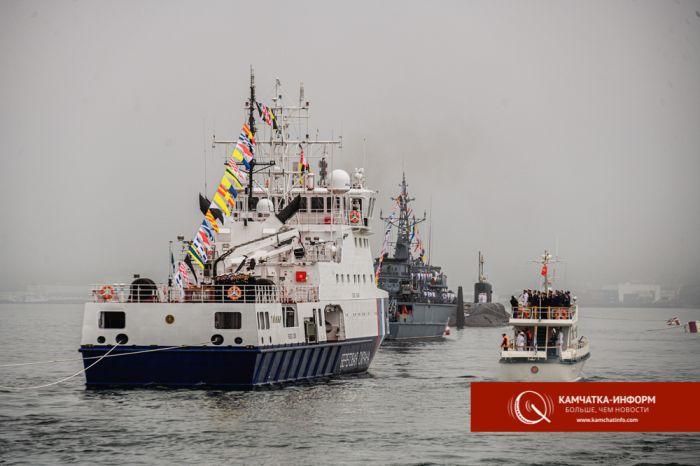 Парад в ковиде и тумане: на Камчатке празднуют день ВМФ. Фото Анастасии Юдаевой, РАИ «КАМЧАТКА-ИНФОРМ»