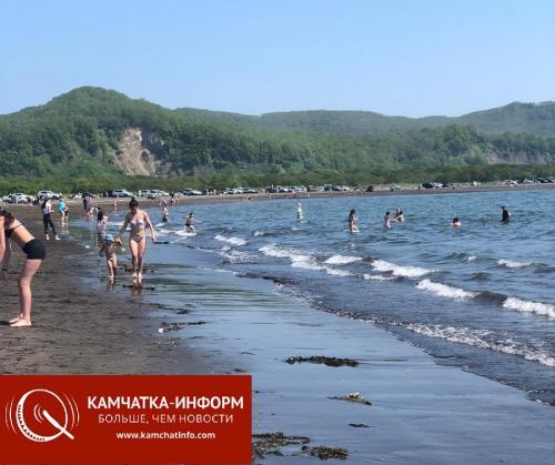 Жители Петропавловска-Камчатского открыли пляжный сезон-2020 (фото). Фото РАИ