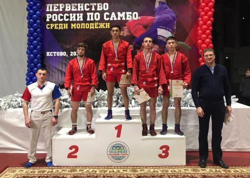 Камчатский самбист Хожиакбар Рахимжанов стал пятикратным победителем первенства России. Фото Сайдамина Садуева