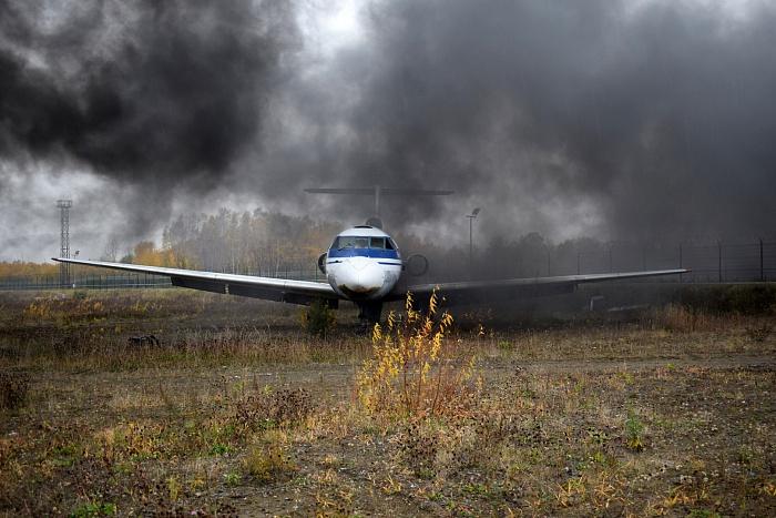 Учения на случай жесткой посадки самолёта прошли в главном аэропорту Камчатки