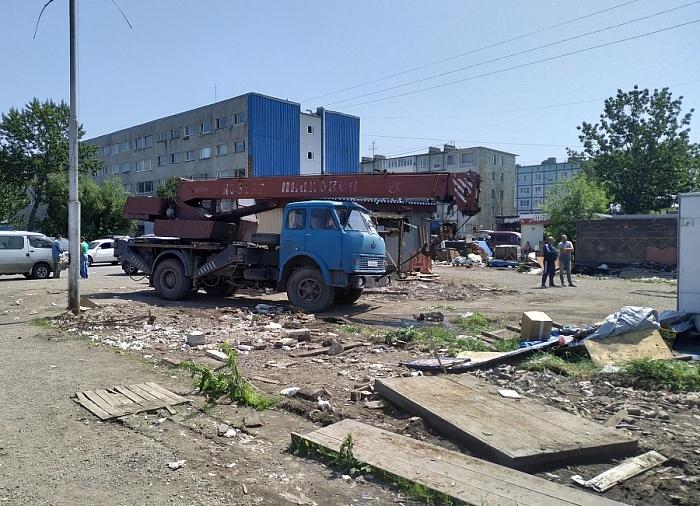 В Петропавловске-Камчатском началось принудительное выселение рынка